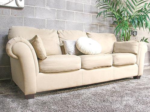 Tan 3-Seater Sofa