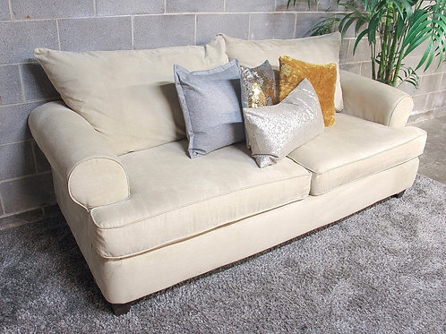 Tan Queen Sleeper Sofa