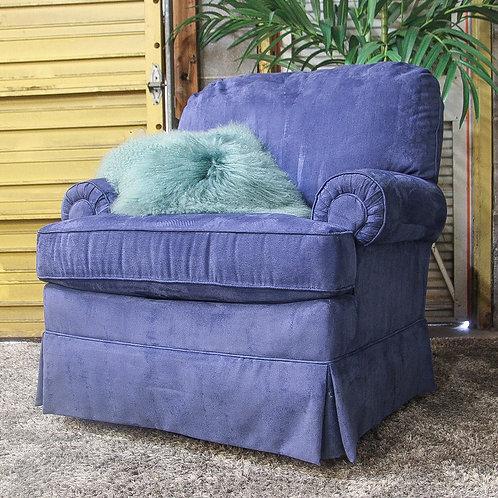 Best Chairs Inc. Blue Swivel Chair
