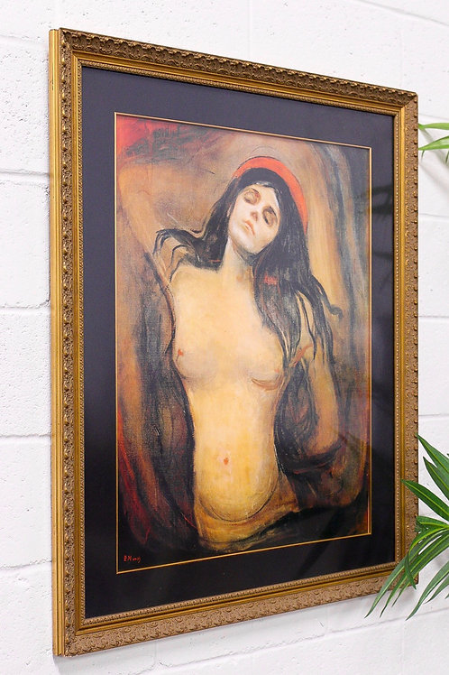 The Madonna, Edvard Munch 1894 Framed Painting Print