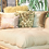Thumbnail: Gold Designed Tufted Chaise Lounger