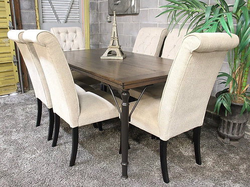 Ashley Furniture 7PC Dining Table Set