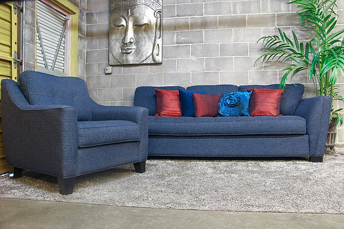 Cindy Crawford Calvin Heights Sofa and Chair