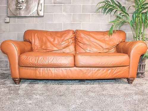 Leather Masters Genuine Leather Sofa
