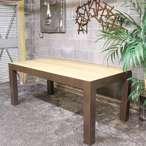 Bernhardt Dining Table and Wall Art