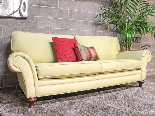 Green Linen Sofa
