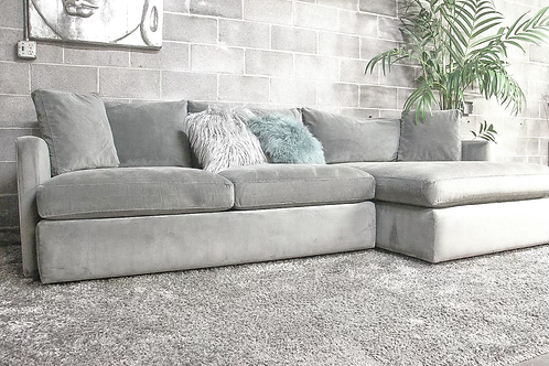 Crate & Barrel 2PC Lounge Sectional