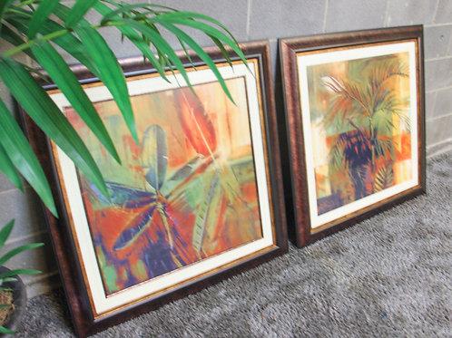 Kirkland's Set of (2) Tropical Wall Art