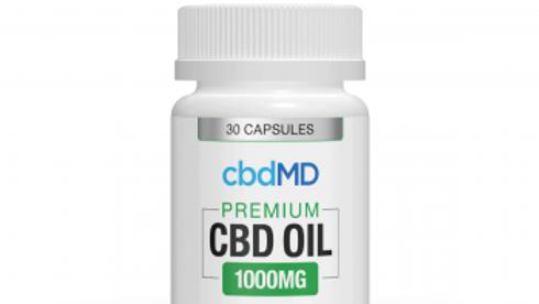 cbdMD CBD OIL 1000MG 30 Capsule
