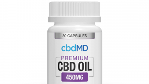 cbdMD CBD OIL 450MG 30 Capsule