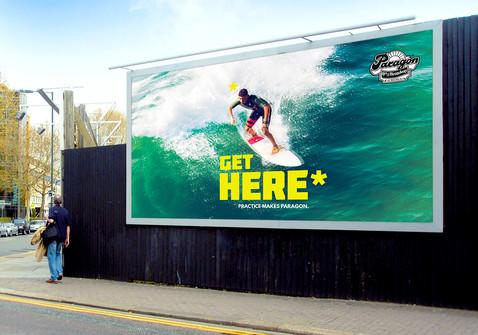 Outdoor Billboard Ad