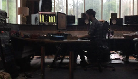Recording Tom Whytes album Realworld studios