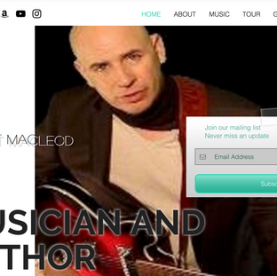 Sean Macleod author and musician