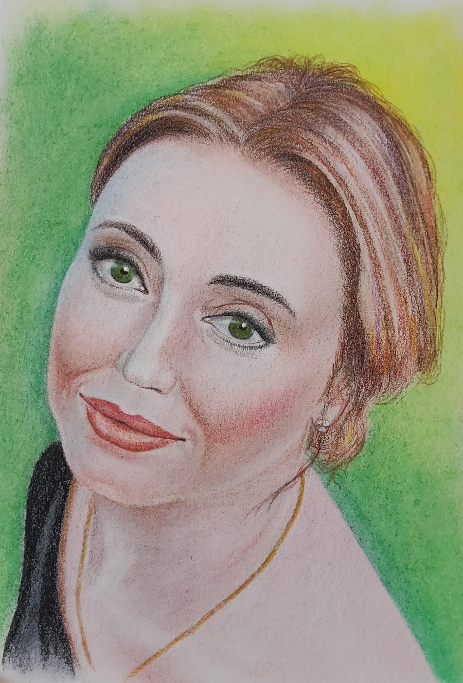 портрет Анюты
