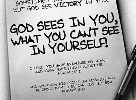 Seeing Yourself as God Sees You!
