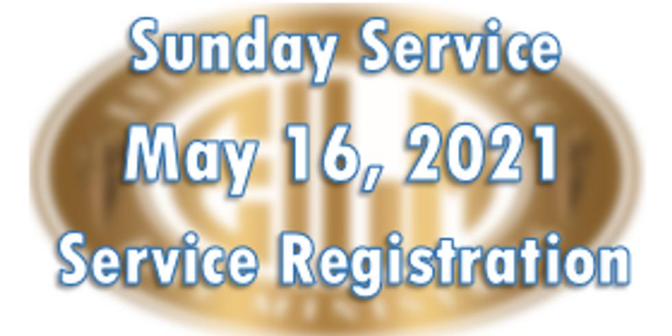 Sunday May 16, 2021
