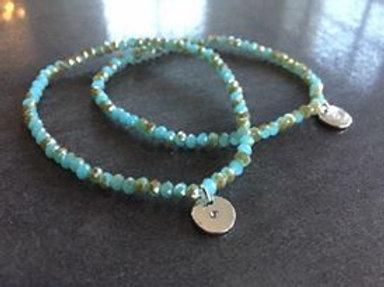 A1-05 Elastic Crystal Bracelets