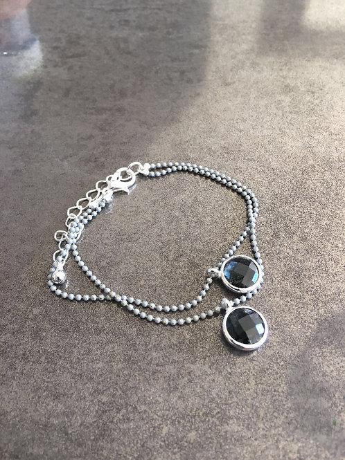 A1-59 Round Stone bracelet