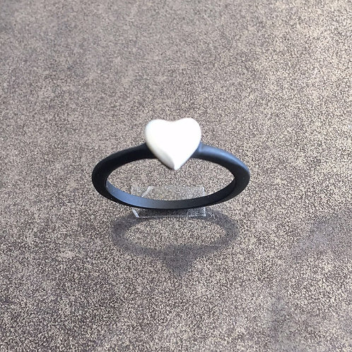 A1-97 Matching Ring for Double Heart Necklace