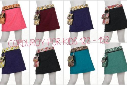 Kids Corduroy Skirt