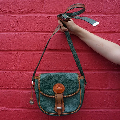 Dooney & Burke Green Crossbody Bag
