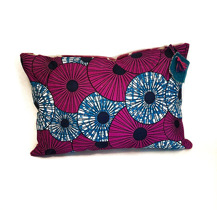 """Coussin """"Ombrelles roses"""""""