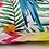 """Thumbnail: Coussin d'extérieur""""Perroquet bleu"""""""