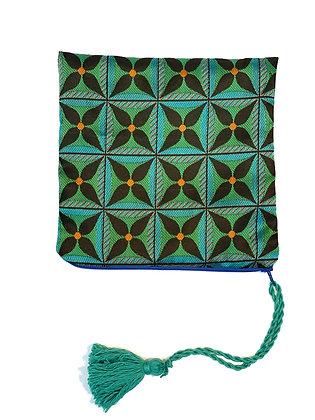 "Pochette de sac ""Étoile Verte"""