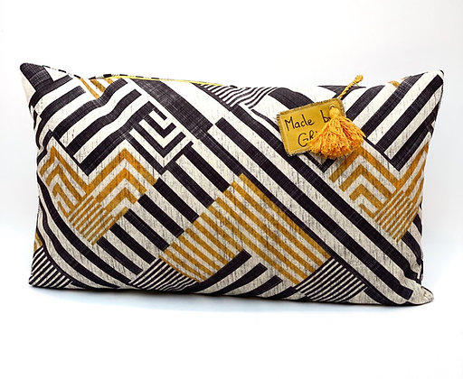 "Coussin ""Labyrinthe"""