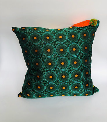 """Coussin collection """"Invitation au voyage Guadeloupe"""""""