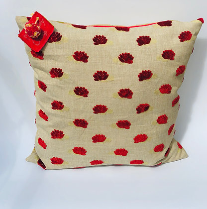 "Coussin collection ""Coquelicot"""