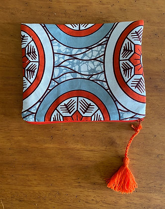 "Pochette ""Regard orange"""