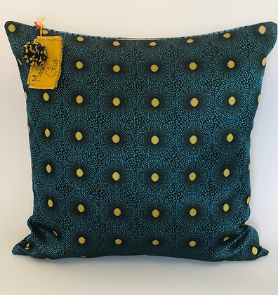 """Coussin collection """"Invitation au voyage, ocean lointain"""""""