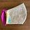 "Thumbnail: Fabric mask ""Little flowers on white"""