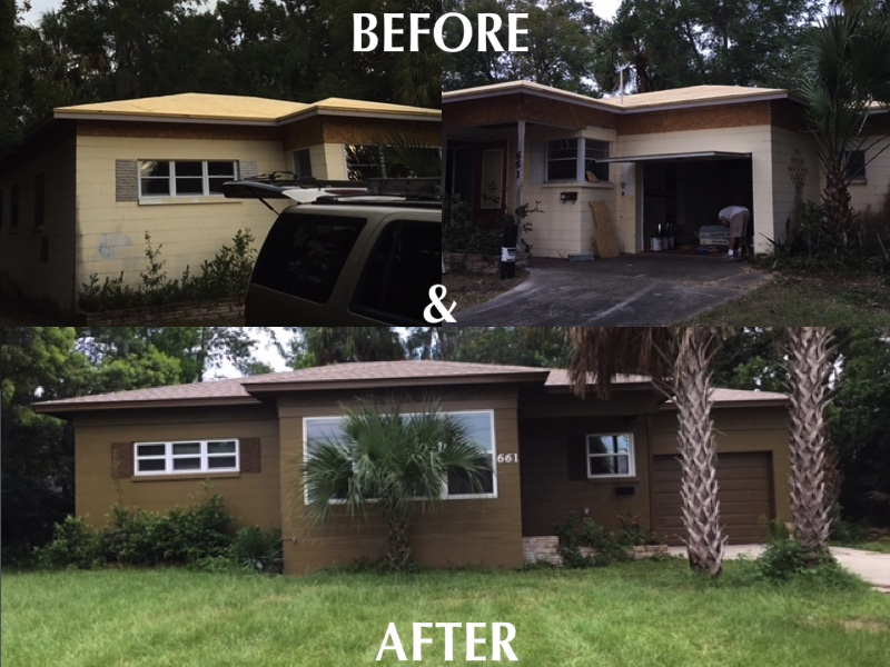 House Remodel Before & After