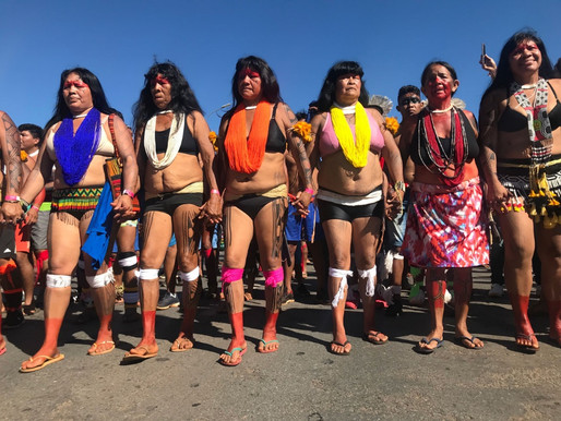 Gender equality propagated by women warriors of the Amazon