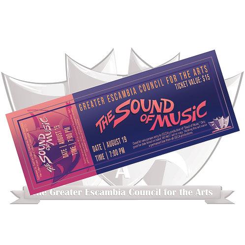 GECA's Sound of Music Ticket: August 26