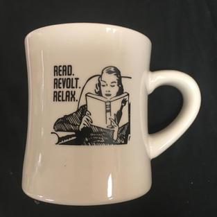 AK Press - Read Revolt Relax Mug