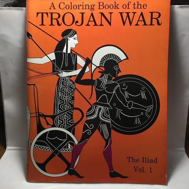 Trojan War Coloring Book