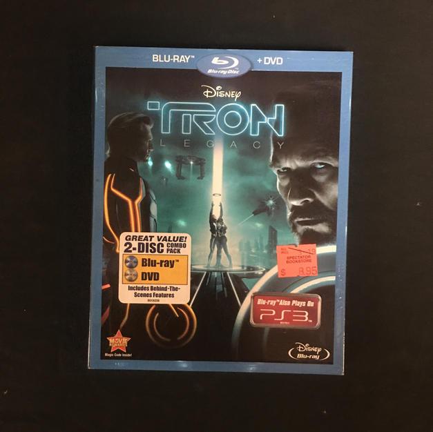 Blu-Ray & DVD - Tron Legacy