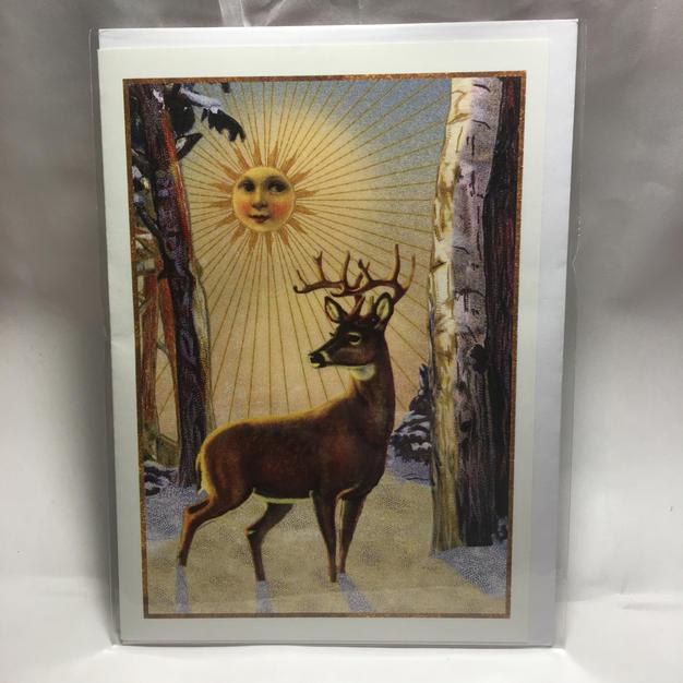 Deer Sun Solstice - Ganapati Studios