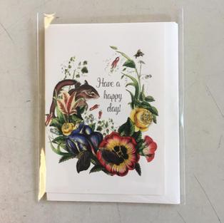 Happy Day Mini Card - P Flynn