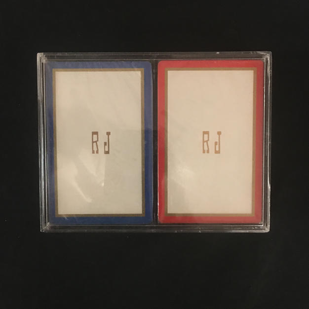 """""""RJ"""" Dual-Deck Playing Cards"""
