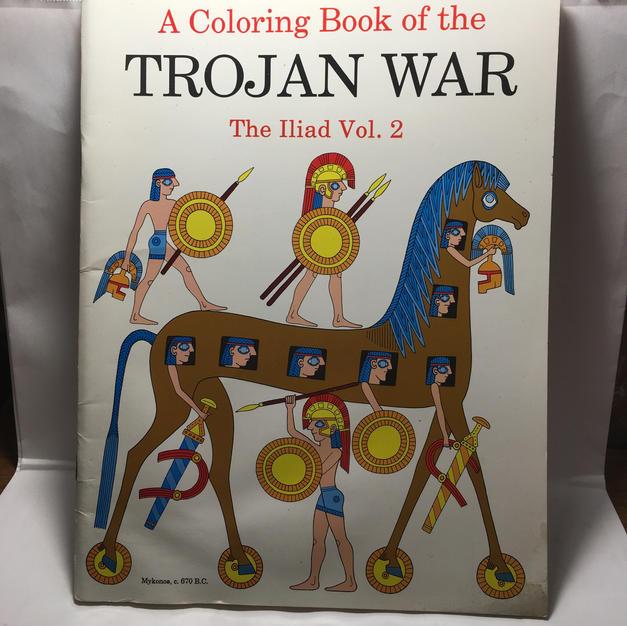 Coloring Book of the Trojan War, Iliad Vol 2