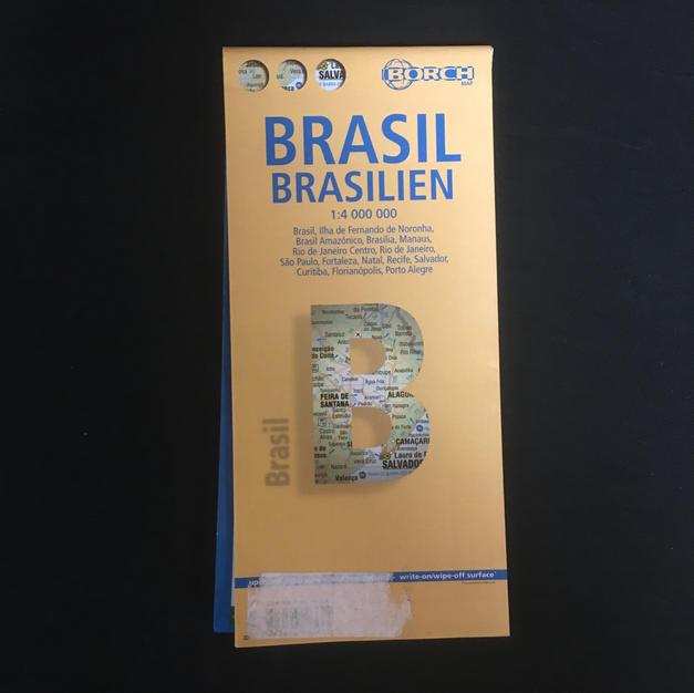 Map - Brasil Yellow