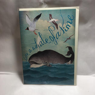 Whale of a Time Birthday / Bon Voyage - Notes & Queries