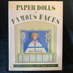 Paper Dolls of Famous Faces by Jean Woodcock