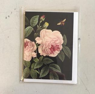 Rose & Bee Mini Card
