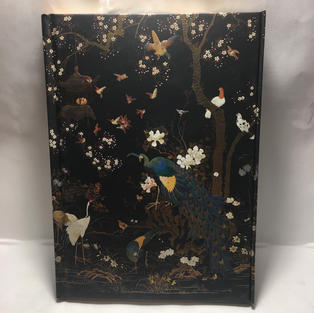 Peacocks - Lined Flame Tree Journal