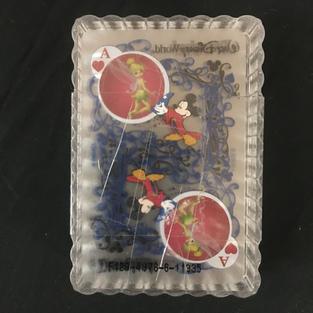 Disney See-Through Playing Cards